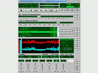 CD Player mit allen notwendigen Funktionen und CDDB Datenbank-Unterstützung