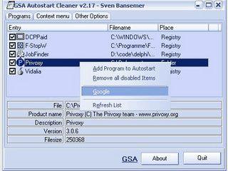 Automatisch mit Windows startende Programme und Dienste konfigurieren.