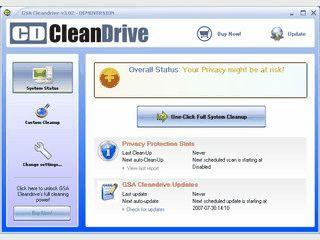 Software zum Schutz Ihrer Privatsphäre und zur Systemoptimierung.