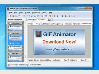 Tool zur Erstellung von animierten GIF oder AVI Dateien.