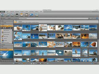 Software zur Organisation von Bildern und Videos verschiedenster Formate.