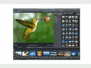 Bilder und Videos zu Slideshows zusammenstellen und auf DVD/CD brennen.