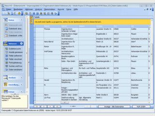 Software zur Dublettensuche in Adressbeständen mit vielen Funktionen.