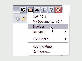 Erweiterung für das Datei Öffnen Fenster zum direkten Zugriff auf eigene Ordner