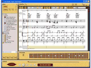 Wandelt Audio-Dateien in Noten für verschiedene Instrumente um.