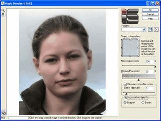 Magic Denoiser kann Bildrauschen aus Digitalfotos entfernen