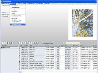 CdCreate - Software für Künstler, Galerien und Sammler