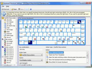 Stellt Ihnen systemweite Tastaturkombinationen zur Verfügung.