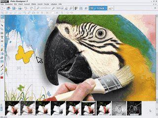Sehr umfangreiche Software für die digitale Bildbearbeitung.