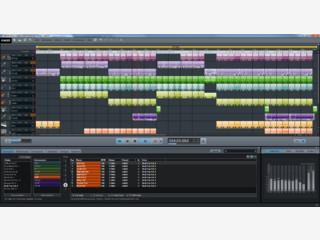 Arranger-Software zum Komponieren von Musik auf Basis von Loops.