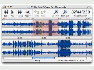 Einfacher Editor zum Bearbeiten von Sounddateien verschiedenster Formate.