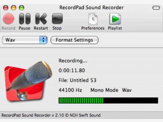 Einfacher Audiorecorder für Line-In und Mikrophon