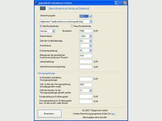 Lohnsteuer-Rechner berechnet Ihre Lohnsteuer von 2001 bis zum aktuellen Jahr.