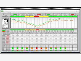 Peak Flow Monitor zeichnet die Werte von Asthma und COPD Patienten auf.