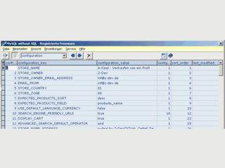 Ermöglicht den Zugriff und die Bearbeitung der Daten von MySQL Datenbanken.