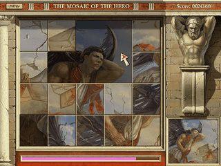 Das antike Griechenland bildet die Hintergrundgeschichte für dieses Denkspiel.