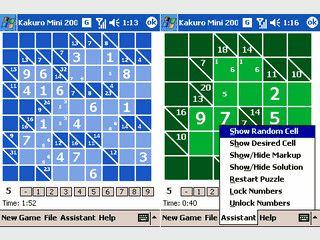 Denkspiel für den PDA das an Sudoku erinnert.