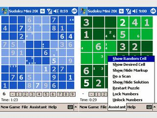 Sudoku für den PDA