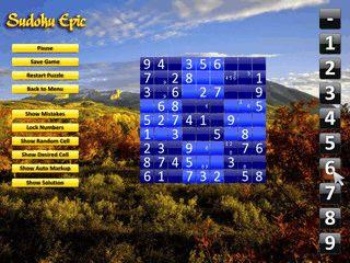 Einfache Variante des beliebiten Denkspiels Sudoku