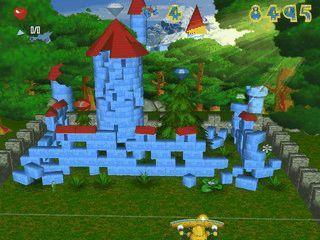 Roboball ist ein 3D Bricks Clone in Bauklötzchen- und Spielzimmeroptik.