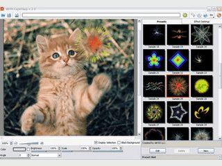 Fügt Bildern verschiedenste Licheffekte hinzu.