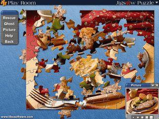 Grafisch sehr ansprechendes Programm mit dem sich Puzzles erstellen lassen.