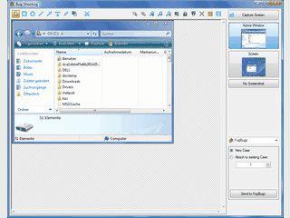 Utilitie zum Erstellen von Screenshots mit Anbindung an FogBugz.
