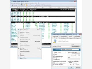 Komfortabler Telnet Client für Intranet und Internet.