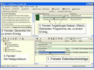 Software zur Wissens- und Projektorganisation.
