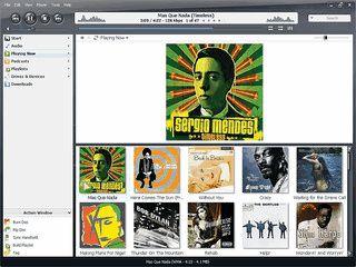 Software zur Organisation und zum Abspielen von Audio-Dateien.