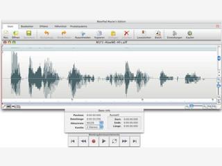 Gut ausgestatteter AudioEditor für Mac OS X