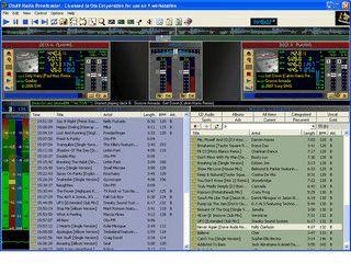Radio-, bzw. Doppelplayer für den kommerziellen Einsatz.