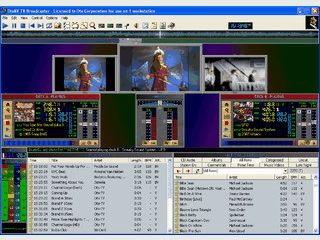 Video-Broadcasting-Software für Stand-alone oder manuellen Betrieb.