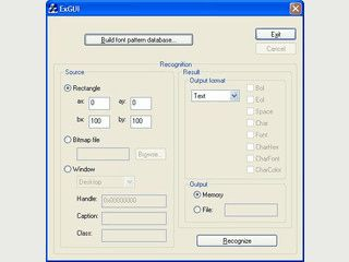 Library die eine Texterfassung aus anderen Windows-Anwendungen ermöglicht.