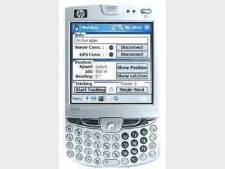 Live-Tracking Software für PDAs und Handy mit Windows Mobile