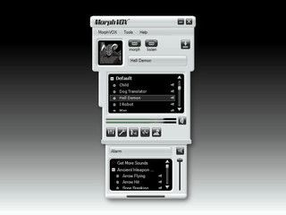 Software zur Veränderung der Stimme in Onlinespielen und Onlinechats.