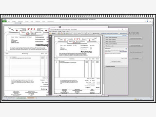 MS Excel Tabelle für die Erstellung von Rechnungen mit Kunden- und Artikel-DB.