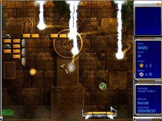 Schneller Arkanoid Clone mit Level-Editor.