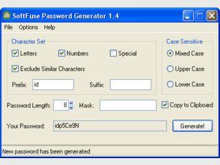 Passwort-Generator der einzelne Passwörter und Passwort-Listen erstellen kann.