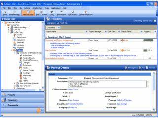 Software zur Projektplanung verschiedenster Aufgaben.