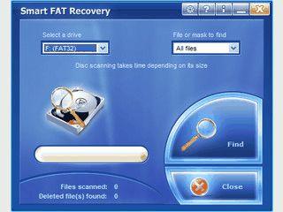 Datenwiederherstellung für FAT 12/16/32 Datenträger.
