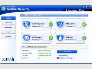 Vollständige Sicherheitslösung für alle aktuellen Bedrohungen Ihres Computers.