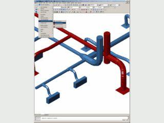 Planung von 3D Rohranlagen mit AutoCad