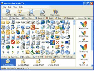Durchsucht den Computer nach Icons in allen relevanten Dateien.