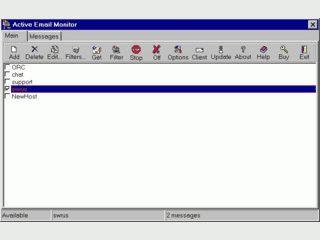 eMail Prüfung, Spam- und Virenschutz in einem Programm