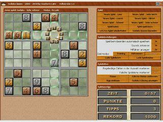Sudoku Queen bietet 3 verschiedene Spielmodi und 5 Schwierigkeitsstufen.