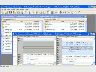 Vergleich von Dateien und Ordner.