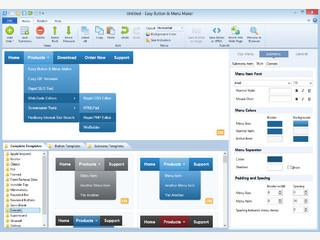 Praktische Software zum Erstellen von Navigationsmenüs für Webseiten