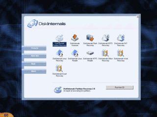 Erstellt eine Boot-CD mit Datenrettungstools für Windows Partitionen.