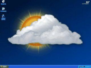 Zeigt Wetterinformationen als aktives Wallpaper auf dem Desktop.